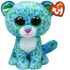 Pliušinė leopardė TY Beanie Boos Leona, 34102 kaina ir informacija | Žaislai mergaitėms | pigu.lt