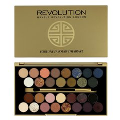 Akių šešėlių paletė Makeup Revolution London Fortune Favours The Brave Palette16 g