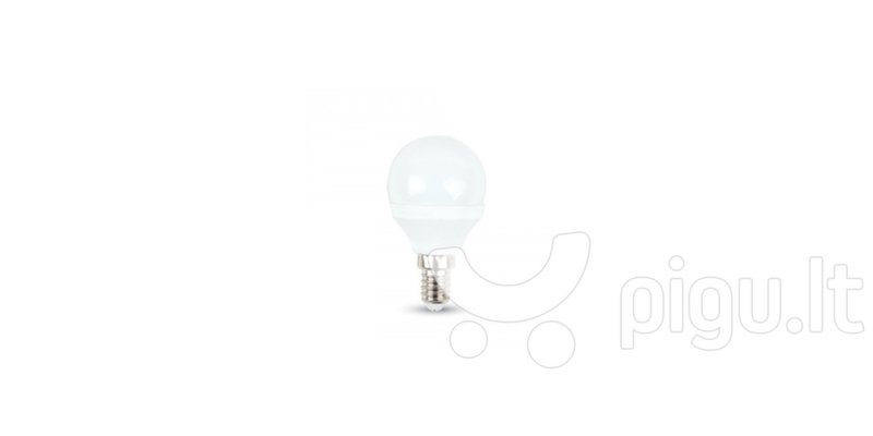 3W LED lemputė Е14 SMD LED (4000K) natūraliai balta