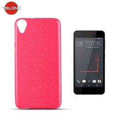 Telone Candy Ultra Slim 0.3mm Shine Jelly Back Case HTC Desire 825 Pink kaina ir informacija | Telefono dėklai | pigu.lt