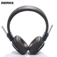 Remax RM-100H Hi-End Audio Class ausinės su mikrofonu, 1.3m, Rudos