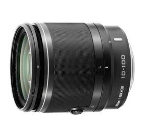 Nikon 1 Nikkor 10-100mm F4-5.6 VR , juoda kaina ir informacija | Objektyvai | pigu.lt