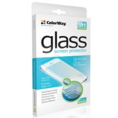 ColorWay 9H CW-GSREAI73DB 3D glass White Screen protector, iPhone 7, Tempered glass, Transparent, Apple
