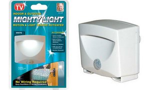 LED sensorinė lempa Mighty Light