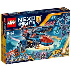 Konstruktorius LEGO® NEXO KNIGHTS Clay sakalas naikintuvas 70351 kaina ir informacija | Konstruktoriai ir kaladėlės | pigu.lt