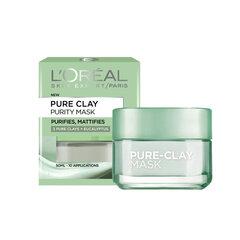 Valomoji molio kaukė L'Oreal Paris Pure Clay 50 ml
