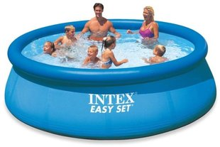 Baseinas Intex Easy Set 396 x 84 cm su filtru