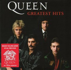 "CD QUEEN ""Greatest Hits"""