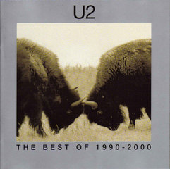 "CD U2 ""Best Of 1990-2000"""
