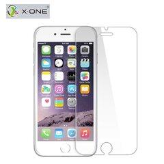 Grūdinto stiklo ekrano apsaugaX-One 9H, skirta Apple iPhone 6/6S telefonui, skaidri