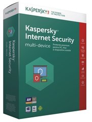 KASPERSKY Internet Security 2017, pratęsimas (1 įreng.)