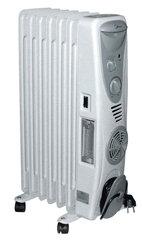 Tepalinis radiatorius Changer NYAKF-7, su ventiliatoriumi kaina ir informacija | Šildytuvai | pigu.lt