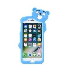 Forcell Soft Silicone 3D Back Case Samsung A320F Galaxy A3 (2017) Blue Bear kaina ir informacija | Telefono dėklai | pigu.lt
