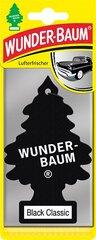 Automobilio oro gaiviklis Wunder-Baum Black Classic kaina ir informacija | Automobilio oro gaiviklis Wunder-Baum Black Classic | pigu.lt