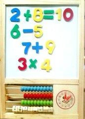 Medinė magnetinė lenta su skaičiais Pareto