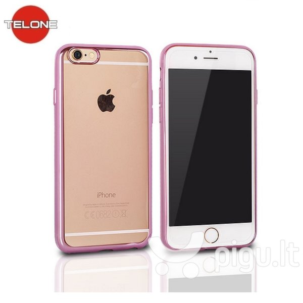 Telone Samsung A5 2017 A520 Clear case pink