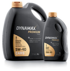 Dynamax Premium Ultra 5W-40, 5L kaina ir informacija | Dynamax Premium Ultra 5W-40, 5L | pigu.lt