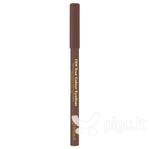 Akių kontūro pieštukas Dermacol 12H True Colour 0.28 g, 4 Light Brown