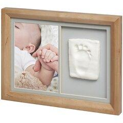 Dvigubo rėmelio su moliu rinkinys Baby Art Tiny Touch honey цена и информация | Отпечатки для малышей | pigu.lt