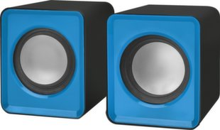 2.0 Speaker system Defender #1 SPK 22 blue, 5W, USB powered