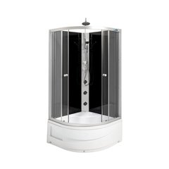 Hidromasažinė dušo kabina Savana Nero