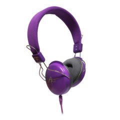 ART Multimedia Headphones STEREO with microphone AP-60MC purple kaina ir informacija | ART Multimedia Headphones STEREO with microphone AP-60MC purple | pigu.lt