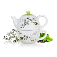 Banquet puodelis su arbatinuku