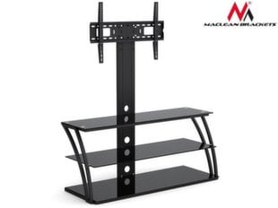 Maclean MC-672 TV table with glass holder for LCD 32-55 ''40kg max VESA 600x400