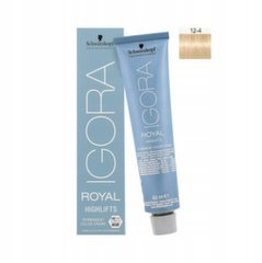 Plaukų dažai Schwarzkopf Professional Igora Royal Highlifts 60 ml, 12-4 Special Blonde Beige