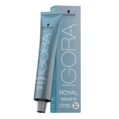 Plaukų dažai Schwarzkopf Professional Igora Royal Highlifts 60 ml, 12-2 Special Blonde Ash