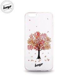 Apsauginis dėklas dėklas Beeyo Blossom skirtas Huawei P8 Lite, Balta/Raudona