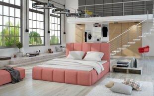 Lova Edvige, 140x200 cm, rožinė kaina ir informacija | Lovos | pigu.lt