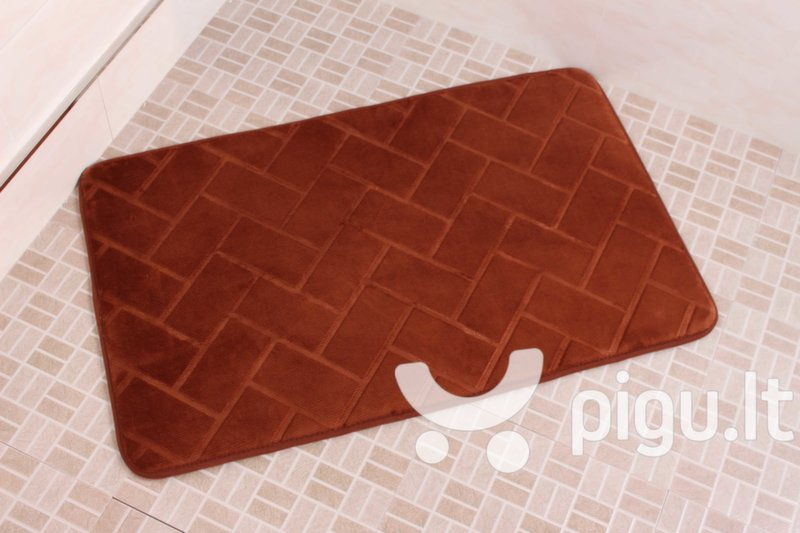 "Memory foam kilimėlis ""Benedomo"" Coffee, 50x80 cm"