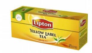 Juodoji arbata LIPTON YELLOW LABEL TEA, 25 vnt. kaina ir informacija | Kava, arbata | pigu.lt