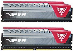 Patriot Viper Elite DDR4 2x8GB, 2400MHz, CL15, Red (PVE416G240C5KRD) kaina ir informacija | Patriot Viper Elite DDR4 2x8GB, 2400MHz, CL15, Red (PVE416G240C5KRD) | pigu.lt