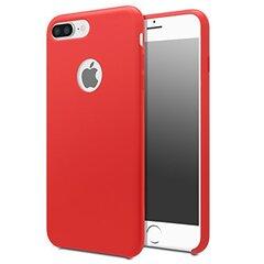 Back cover Liquid silicone Iphone 6 (Red) kaina ir informacija | Telefono dėklai | pigu.lt