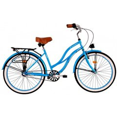 Moteriškas miesto dviratis DHS Cruiser 2698 kaina ir informacija | Dviračiai | pigu.lt