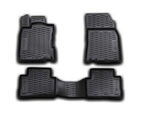 Guminiai kilimėliai 3D NISSAN Qashqai 2014->, 4 pcs. /L50066