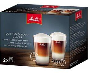 Melitta stikl. puodel. 300 ml. 2 vnt kaina ir informacija | Priedai kavos aparatams | pigu.lt