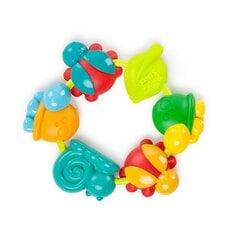 Kramtukas Bright Starts Buggy Bites, 52028, 3 mėn+ kaina ir informacija | Žaislai kūdikiams | pigu.lt