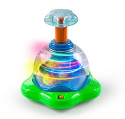 Suktukas Bright Starts Press & Glow Spinner™, 10042, 6 mėn+