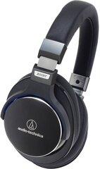 Audio Technica ATH-MSR7BK SonicPro™ su mikrofonu, Juodos kaina ir informacija | Laisvų rankų įranga ir ausinės | pigu.lt