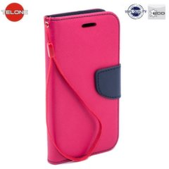 Telone Fancy Diary Bookstand Case Huawei Mate 9 Pink/Blue kaina ir informacija | Telefono dėklai | pigu.lt