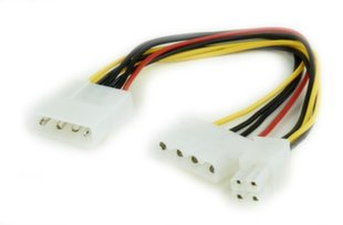 CABLE POWER SPLITTER MOLEX/4PIN CC-PSU-4 GEMBIRD