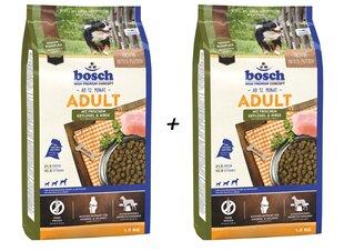 Bosch Adult Poultry & Millet (High Premium) 1kg+1kg