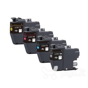 Brother LC3217BK Ink Cartridge, Black internetu