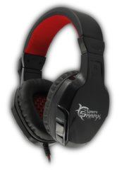 White Shark Headset GHS-1641 Panther, Juodos