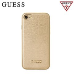 GUESS GUHCP7IGLGO IriDescent Silicone TPU Back case Apple iPhone 7 4.7inch Gold