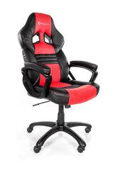 Žaidimų kėdė Arozzi Monza, raudona/juoda kaina ir informacija | Biuro kėdės | pigu.lt