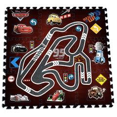 Dėlionė kilimėlis Cars Giant Race (Žaibas Makvynas)